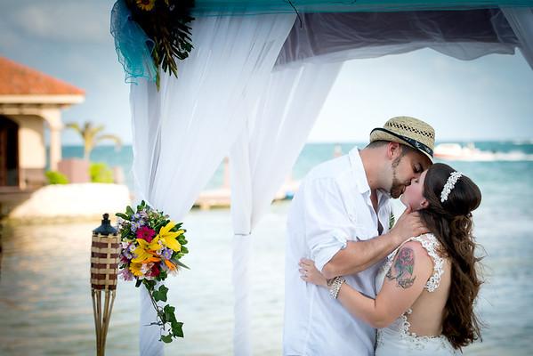 Micaela & Sunny - Wedding - Belize - 26th of April 2016