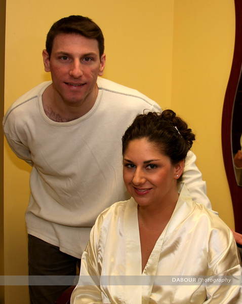Photos of Rich and Raina before their wedding ceremony. Photo by Julie DABOUR
