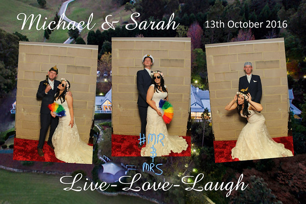 Michael & Sarah's Wedding - 13 October 2016