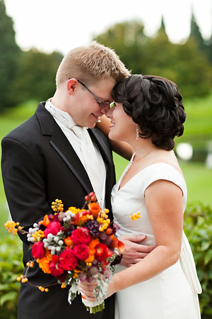 First Look and Couples Portraits