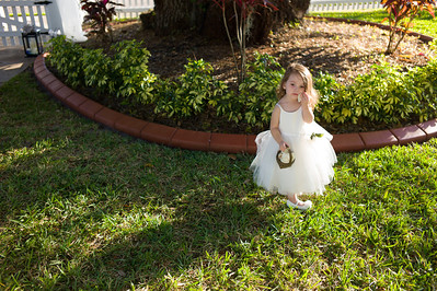 The wedding of Megan and Greg Michaud in Palmetto, Florida on November 15, 2012. (Jay Grabiec)
