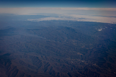 View from my window seat in a plane on November 18, 2012. (Jay Grabiec)