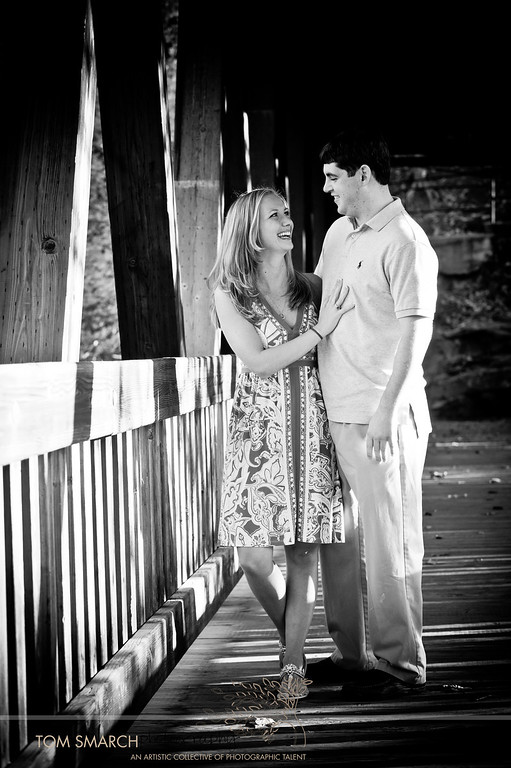 Our Engagement Session at The Old Roswell Mill