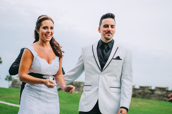Michelle and Laurent @ The Castillo De San Marcos