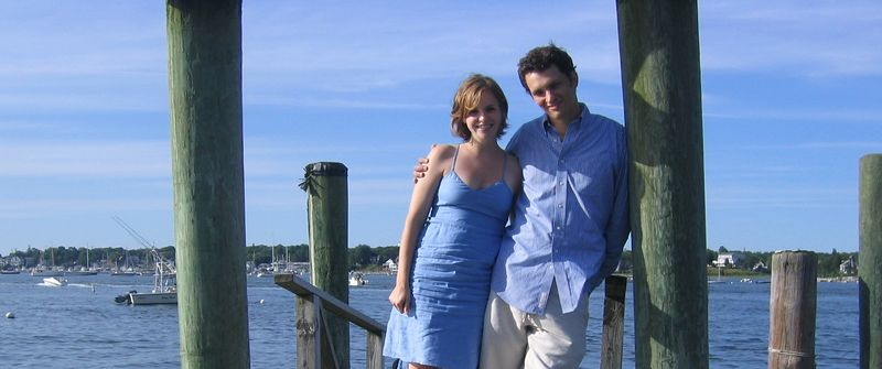 Us on the pier