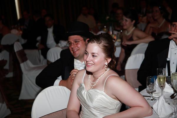 Mike & Jess Wedding Reception - Toasts