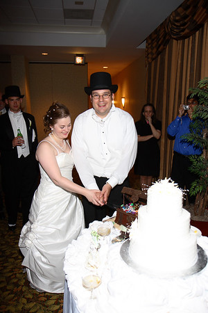 Mike & Jess Wedding Reception - Cake