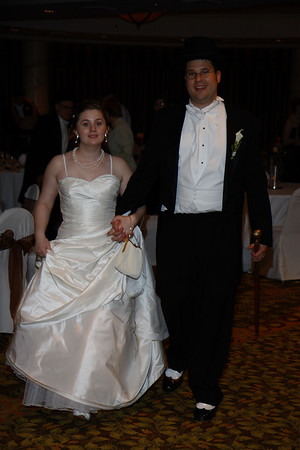 Mike & Jess Wedding Reception - Goodbyes