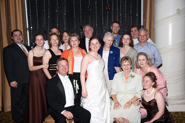 Mike & Jess Wedding Reception - Family's