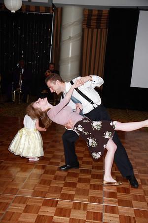 Mike & Jess Wedding Reception - Dancing
