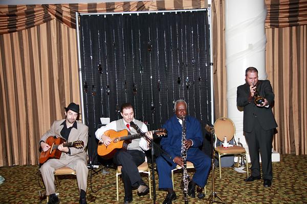Mike & Jess Wedding Reception - Band
