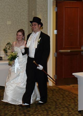 Mike & Jess Wedding Reception - Entrance