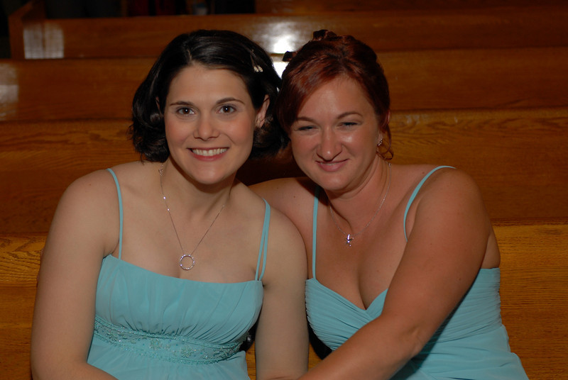 Jill's Maids of honor.