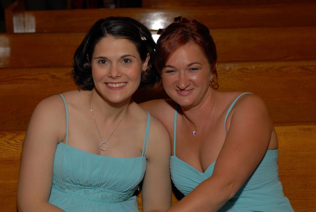 Jill's Maids of honor.