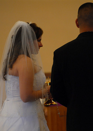 I believe this was 1st communion as man and wife.