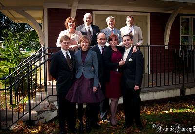 Back: Laurie, Ed, Buddy, Dave Front: Jonathan, Jaimie, Raffi, Susan, Mike