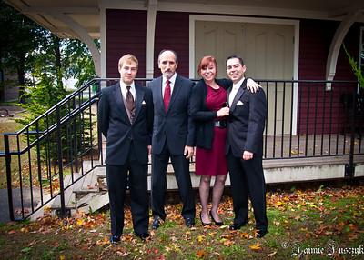Jonathan, Raffi, Susan and Mike.