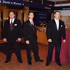 Paul, Jeff, and Mike waiting to begin the ceremony
