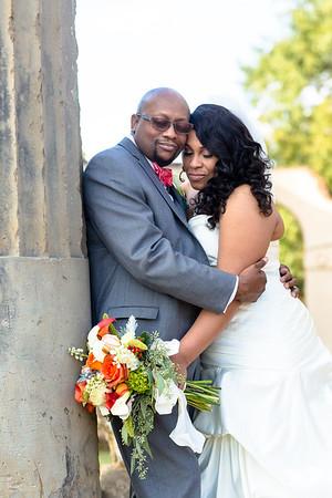 Mildred and Edward Hooks Wedding