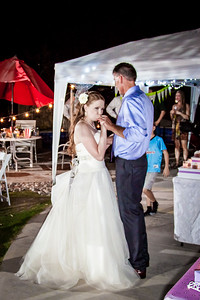 Photography for the wedding of Mindy and Quinn in San Tan Valley, Arizona near Phoenix..