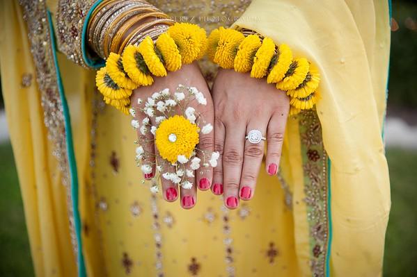 Mirha & Usmaan - mayun-mehndi & nikah