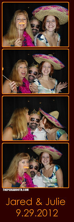 Jared and Julie's Wedding [9-29-12] (The Peek A Booth)