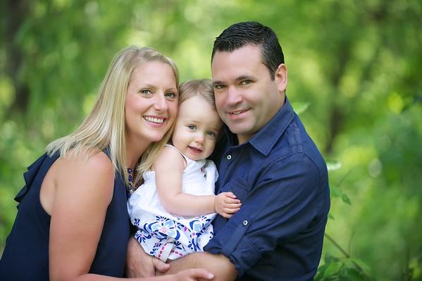 Missy & Jamie Family