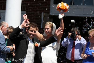 Congratulations to the newlyweds - Chagrin Falls, OH ... July 3, 2010 ... Photo by Rob Page III