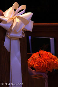 A bridesmaid's bouquet - Chagrin Falls, OH ... July 3, 2010 ... Photo by Rob Page III