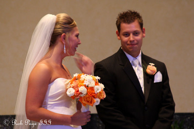 The newlyweds - Chagrin Falls, OH ... July 3, 2010 ... Photo by Rob Page III