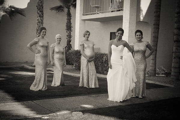Molloy Wedding Bridal Party