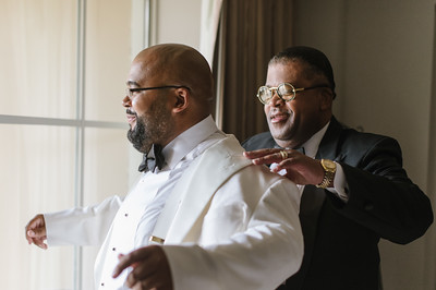 Morgan & Moses' Wedding at Wheeler Avenue Baptist Church and Hotel ZaZa July 29, 2016