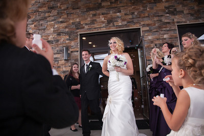 The wedding of Danielle and Jacob Moxley in Sullivan, Illinois on November 5, 2012. (Jay Grabiec)