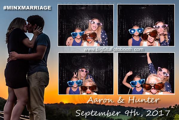 Mr & Mrs Aaron Minx (FotoBooth)