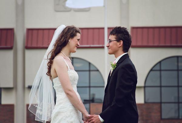 Mr. and Mrs. Albert// 2013