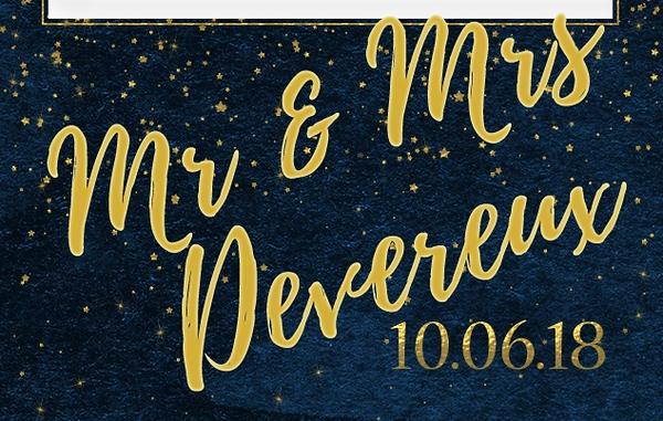 Mr and Mrs Devereux