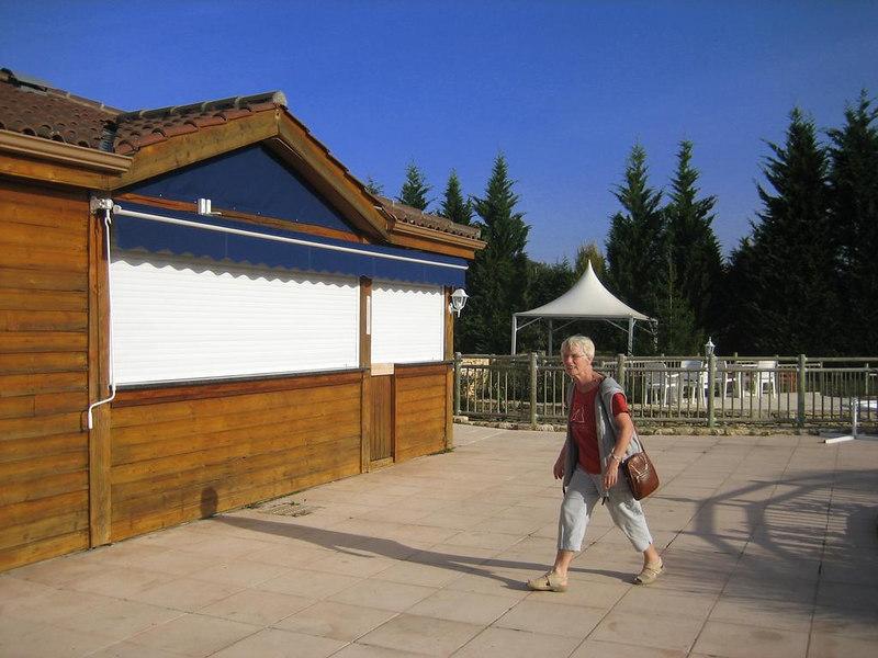 Snackbar at Guillalmes' pool