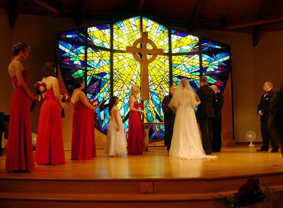 Courteney, Amanda, Laura, Trinity, Salli, Pastor Bryan, me, Joel, David (aka other dad), and Josh