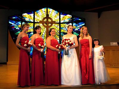 Courteney, Amanda, Laura, me, Salli, and Trinity