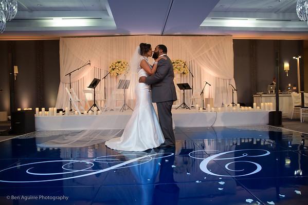 NBA Wife Sundy and Cedric Carter's West Coast Wedding