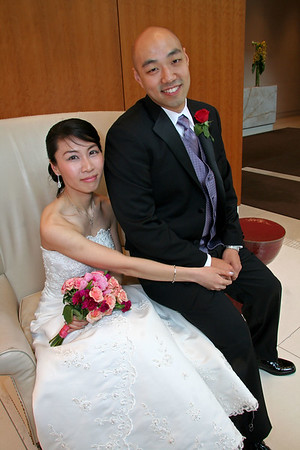 NEW YORK - MAY 3: Saturday May 3, 2008 - Portraits - The Wedding of Inn Ling Eng and Peter Ahn.