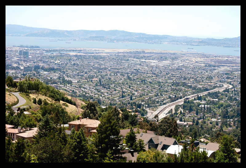 It was the perfect day in the Berkeley hills.