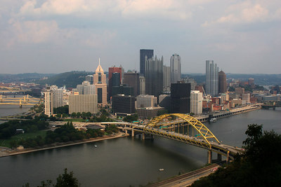 From the top of the Dusquene Incline - Pittsburgh, PA ... September 9, 2006 ... Photo by Rob Page Jr.