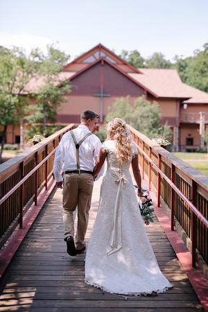 Natalie and Brandon Wedding Day