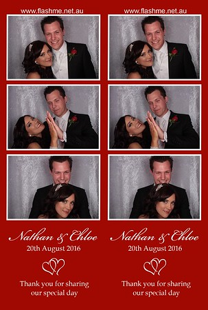 Nathan & Chloe's Wedding - 20 August 2016