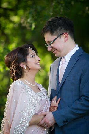 Neha & Brandon - Nikkah