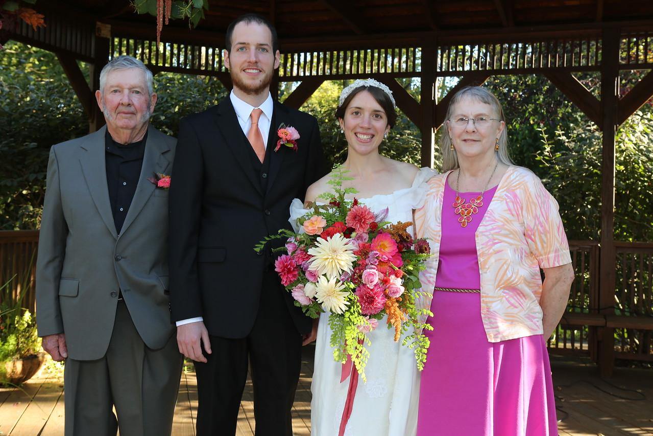 Grandpa Kelly, Joel & Nellie, Grandma Kelly