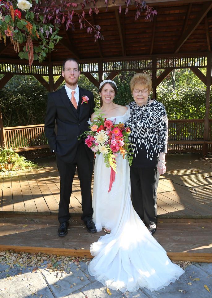 Joel & Nellie & Grandma Ashmore