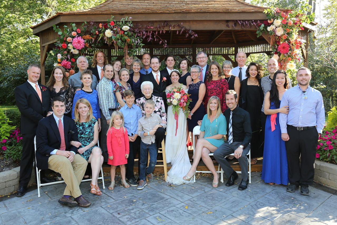 Joel & Nellie & extended Lahman family