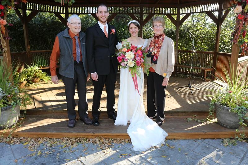 Grandpa Hogle, Joel, Nellie, Grandma Hogle